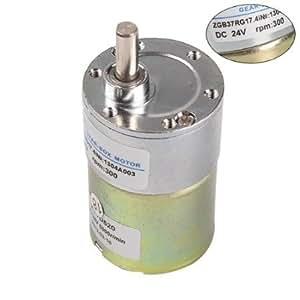 Dn high torque 24v dc 300 rpm metal gear box electric for 300 rpm high torque dc motor