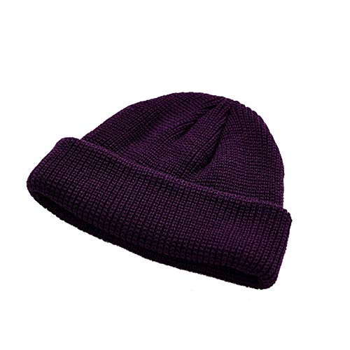 Wilbur Gold Unisex Winter Knitting Beanie Adult Wool Skullcap Outdoor Sports Accessories Fashion Warmer Skullies Hats