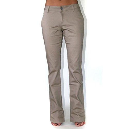 Dickies Girl - 874 Original Low Rider Straight Leg Khaki Pant - (Dickies Lowrider)