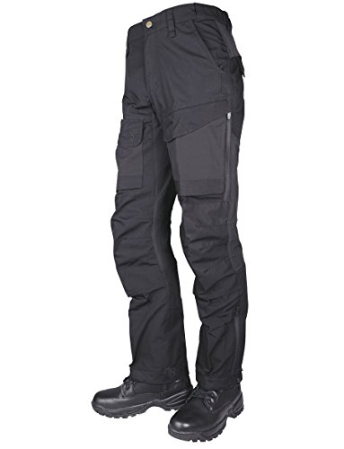 Black Water Western Boots - Tru-Spec Men's 24-7 Xpedition Pants, Black, W: 30 Large: 34