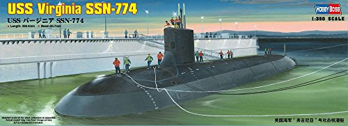 Hobby Boss USS Virginia SSN-774 Boat Model Building - Virginia Class Uss Submarines