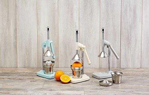 Kitchen Craft Living Nostalgia - Spremiagrumi per Uso intensivo, con Leva, Colore: Grigio Francese 4 spesavip
