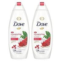 Dove Go Fresh Body Wash Pomegranate and Hibiscus Tea 22 oz, 2 count