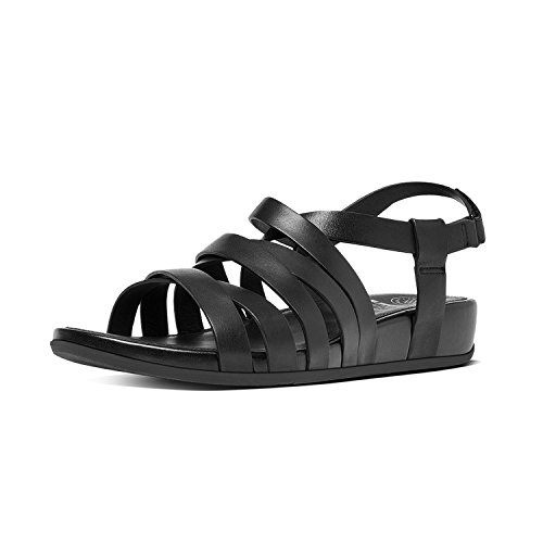 FitFlop Lumy Leather Sandale 2017 All Black