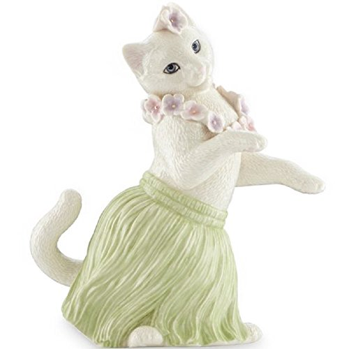 Lenox Kitty's Hula Dance Recital Fine Porcelain Collectible Figurine - 6.75""