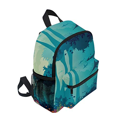 Girl BALII Bag Book Boy Fishes Backpack Colorful School Toddler for Rucksack Reef Children Coral Pxwr4qFP