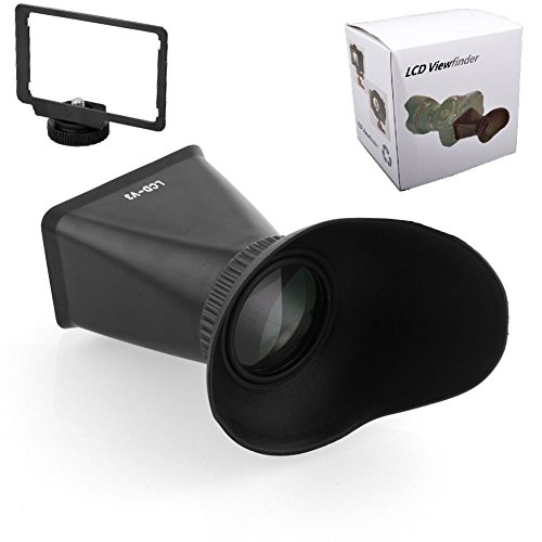 """2.8X 3/"""" LCD Screen Viewfinder Magnifier V3 for Canon T3i 600D 60D 650D 70D"""