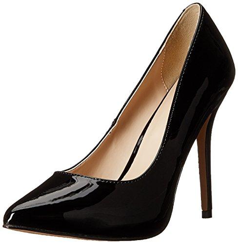 Pleaser Black 20 Femme Pat Blk Escarpins Amuse gx0rqHCwg