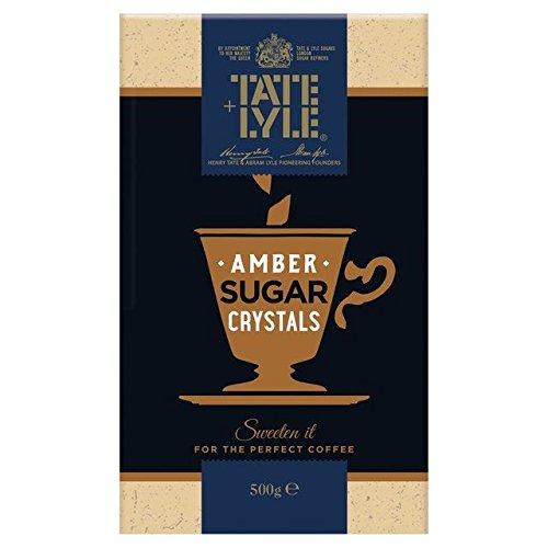 Tate & Lyle Amber Crystals Sugar - 500g (Amber Sugar Crystals)