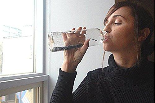 IPPINKA Portable Kishu Binchotan Charcoal Water Purifying Sticks, Set of 2 Sticks, Filters Personal-Sized Water Bottles