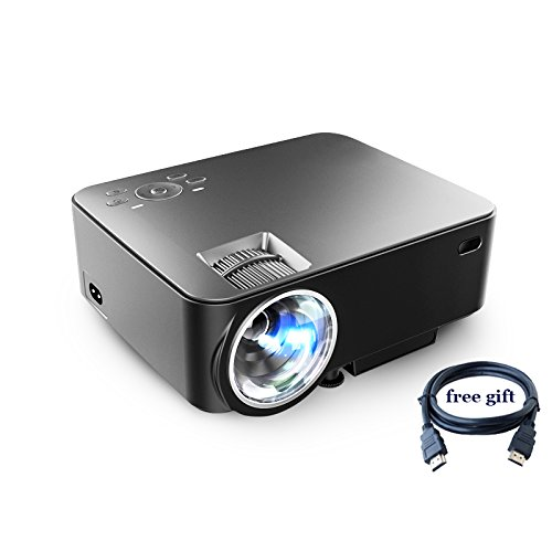 Wewdigi mini wifi projector 1200lm led multimedia for Mini projector iphone compatible