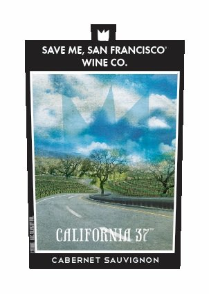 2014 Save Me San Francisco California 37 Cabernet Sauvignon, 750 mL (Bottle Of Wine)