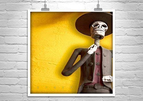 Day of the Dead Art, Mexican Folk Art, Dia de los Muertos, Hispanic Folk Art Dia De Los Muertos Folk Art