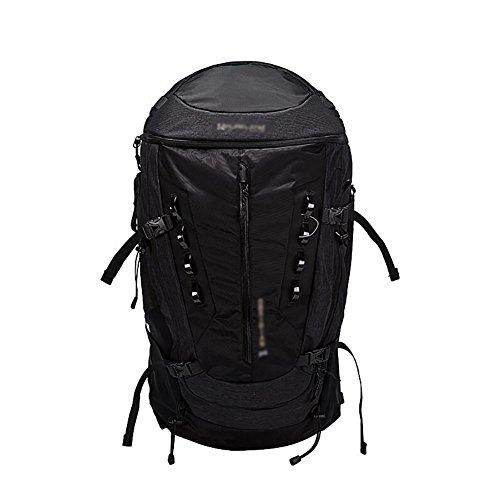 HWLXBB Outdoor Bergsteigen-Paket Männer und Frauen 50L Wasserdichte Mehrzweck-Bergsteigen Tasche Wanderrucksack ( Farbe : 2* , größe : 50L )