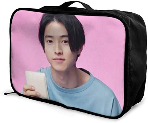 Yamazaki Kento 旅行用トロリーバッグ 軽量 ポータブル荷物バッグ 衣類収納ケース キャリーケース 固定 出張パッキング 大容量 トラベルバッグ ボストンバッグ キャリーオンバッグ 旅行用サブバッグ