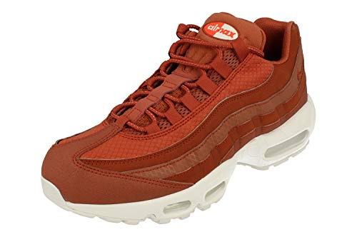 Nike Air Max 95 Premium SE Mens Running Trainers 924478 Sneakers Shoes (UK 7.5 US 8.5 EU 42, Dusty Peach White 200) by Nike (Image #5)