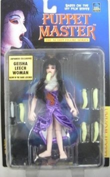 Puppet Master Geisha Leech Woman Japanese Exclusive Action - Puppet Master Torch