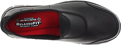 Skechers for Work Women's 76536 Sure Track Slip-Resistant Shoe