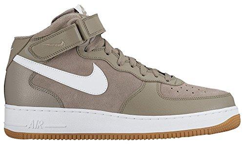 造船他のバンドで一節[ナイキ] Nike Air Force 1 Mid - メンズ バスケット Light Taupe/White/Gum Light Brown US10.0 [並行輸入品]