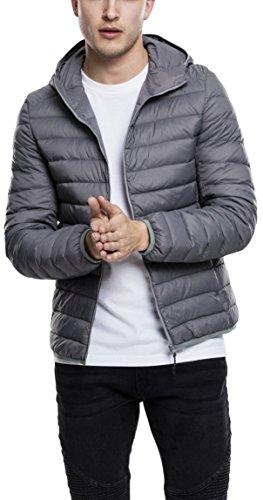 Classics Giacca Uomo 94 darkgrey Grau Urban Jacket Down Basic Hooded gH7xpP7