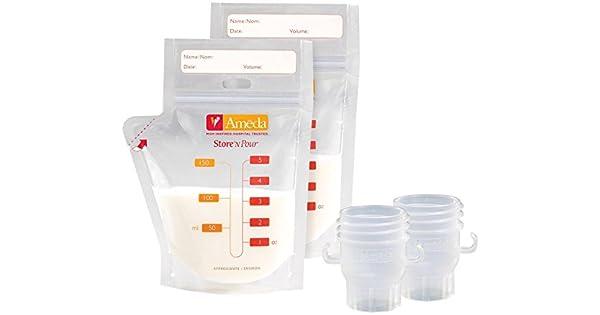 Amazon.com: Ameda tienda N Pour bolsas de almacenamiento de ...