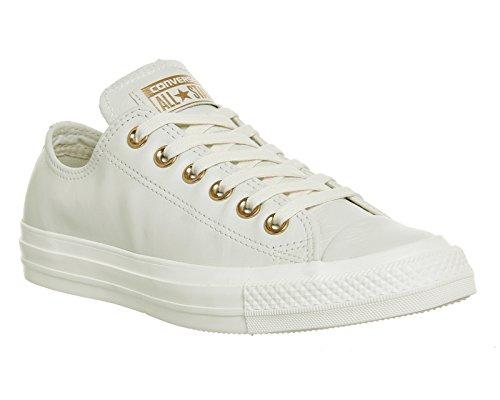 Converse Chuck Taylor All Star Mono Ox, Unisex - Erwachsene Sneaker Egret Rose Gold Exclusive