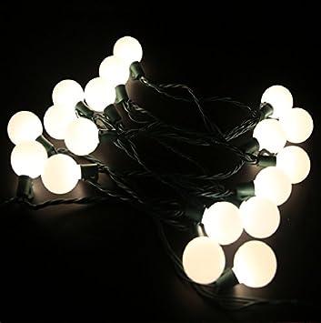 Amazon heavy duty commercial outdoor globe string lights 17ft heavy duty commercial outdoor globe string lights17ft g40 25 led warm white christmas lights aloadofball Choice Image