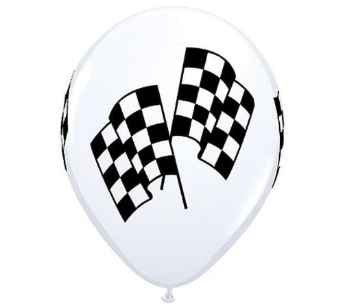 Indy Racing Flags - 10 PACK RACING FLAGS 11