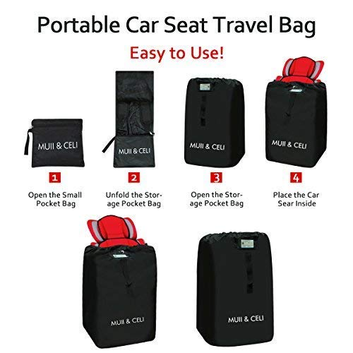 Amazon.com   Airport Stroller Gate Check Travel Luggage Bag for Car Seat db106abee9723