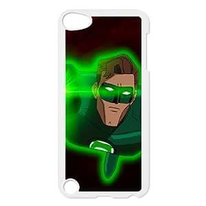 iPod Touch 5 Case White Green Lantern Phone Case Cover Protective Plastic XPDSUNTR33861