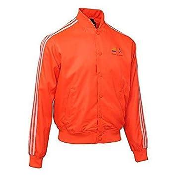 Adidas Hombre Pharrell Williams Consorcio X Chándal Z97399 Chaqueta - Naranja, ...