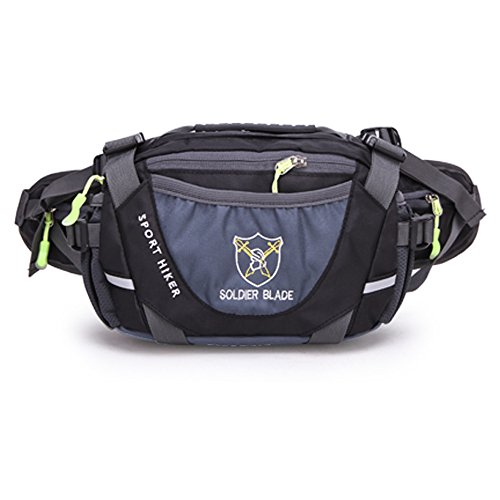 Waterproof Pouch Sport Running Large Capacity Waist Bag Fanny Pack For Men Women Travelling Cycling Hiking Camping