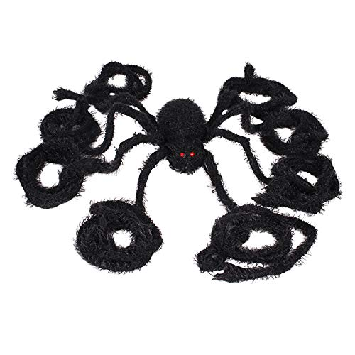 Fashion Story Halloween Large Spider Decoration Haunted House Props Party Décor Supplies