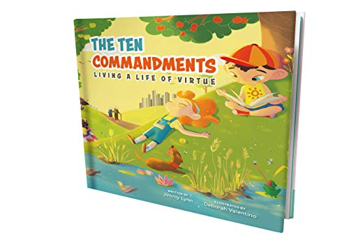 The Ten Commandments – God's Blueprint That Helps Our Kids Life A Righteous Life – Illustrated Version Helps Reinforce The 10 Commandments & a Strong Moral Compass ()