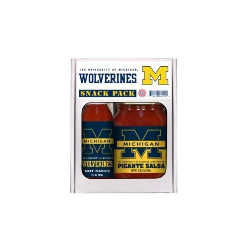 Hot Sauce Harrys 4010 MICHIGAN Wolverines Snack Pack Hot Sauceサルサ B0012R3VR4