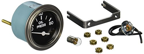 Sierra International 80180P Heavy Duty Electric 80 Psi Oil Pressure Gauge For Inboard   Diesel Engines  2