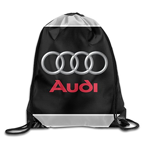 Price comparison product image Bieshabi Audi Logo Drawstring Backpacks Sack Bag/Bags
