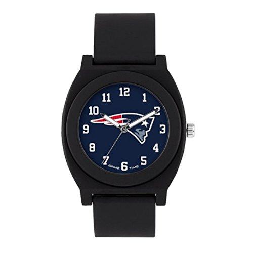 NFL New England Patriots Mens Fan Series Wrist Watch, Black, One Size