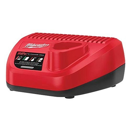Milwaukee Genuine OEM 48-59-2401 M12 Lithium Ion 12 Volt Battery Charger w/LED Indicating