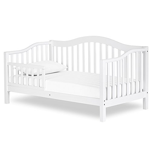 Dream On Me Austin Toddler Day Bed, White - Austin Headboard