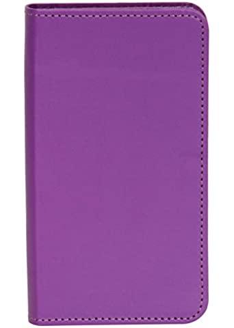 Senzoni Pu Leather Mobile Flip Pouch Case Cover For Karbonn Titanium MachFive available at Amazon for Rs.229