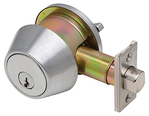 Dexter Commercial Hardware DB1000-SCT-605-KDC Single Cylinder, Grade 2, KDC, Deadbolt, Bright Brass by Dexter Commercial Hardware