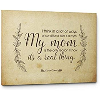 Qutenest Mom Quote Canvas, Unique Mom Gift, Mom Quote Sign, Mom Wall Art  Print, Best Mom Gift, Gift for Mom, Mom Quotes from Daughter or Son, Mom ...