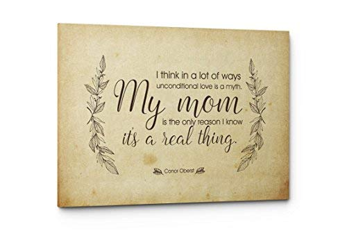 Qutenest Mom Quote Canvas, Unique Mom Gift, Mom Quote Sign, Mom Wall Art Print, Best Mom Gift, Gift for Mom, Mom Quotes from Daughter or Son, Mom Birthday Gift (17