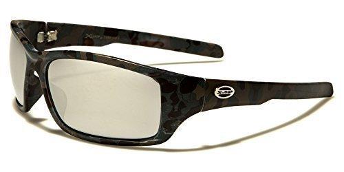 X-Loop Sportbrille Unisex Damen Herren Sport Sonnenbrille Kunststoff in verschiedenen Farben mit Brillenbeutel WXMkvyAMKy
