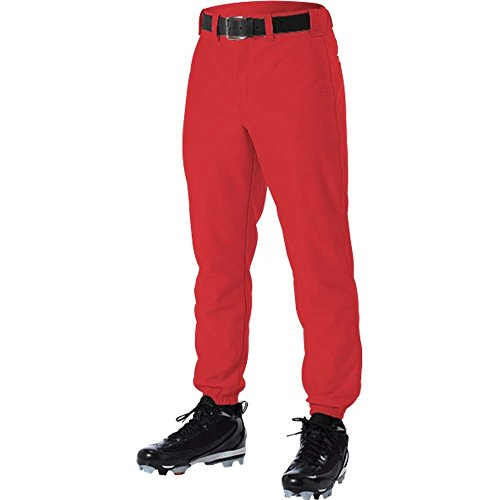 DON ALLESON 605P BASEBALL UNIFORM adult mens PANTS A Red ()
