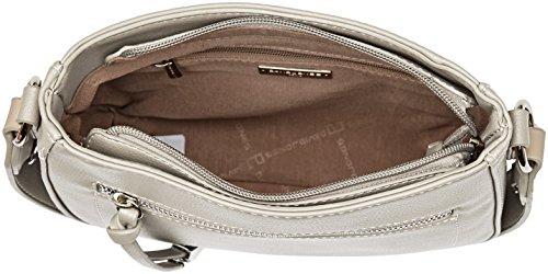 Gris L Shoppers Mujer 5680a hombro bolsos grey y de 1 Jones David gvwxqOW