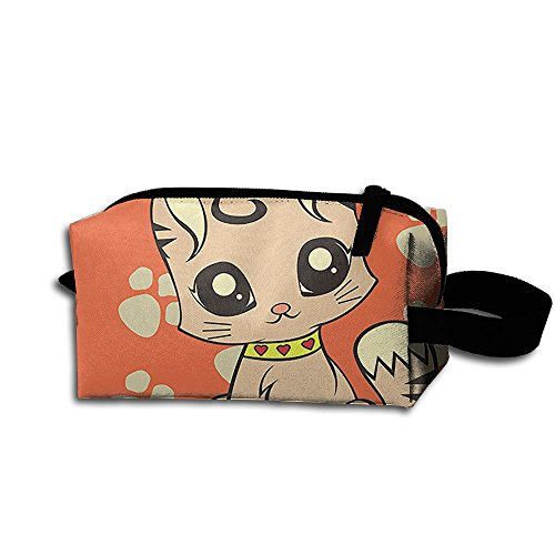 Create Magic Cat Purse Or Coin Purse Pouch Waterproof Multi-purpose Storage Tote Tools Pouches Cosmetic Bags With Zipper And Hanging (Cat3 Tool)