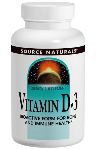 SOURCE NATURALS Vitamin D-3 2000 IU 100 SOFTGEL