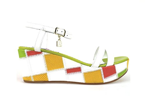 BRACCIALINI Sandals Multicolor Leather AH379 (7 US / 37 EU)